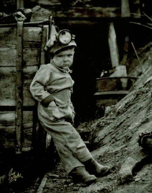 Old coal mining photos