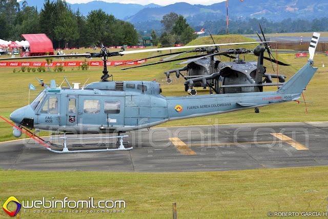 Los helicópteros Huey II de la Fuerza Aérea Colombiana contarán con modernas cabinas digitales equipadas con pantallas multifunción, que permitirán mejorar su desempeño en las operaciones.