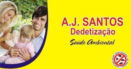 Clique na imagem e conheça A.J. Santos Detetização
