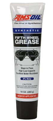 RV, fifth wheel, grease