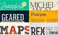 Las 100 mejores tipografías gratuitas para 2012