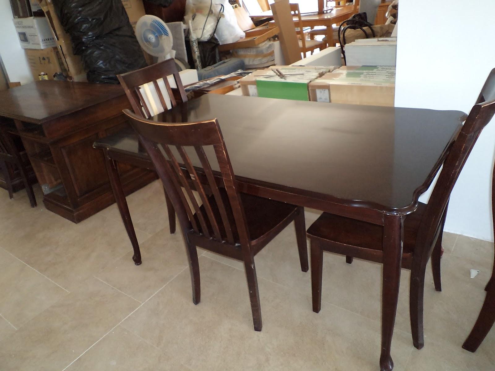 Muebles nuevos y usados usa juegos de comedor americanos for Modelos de muebles de comedor