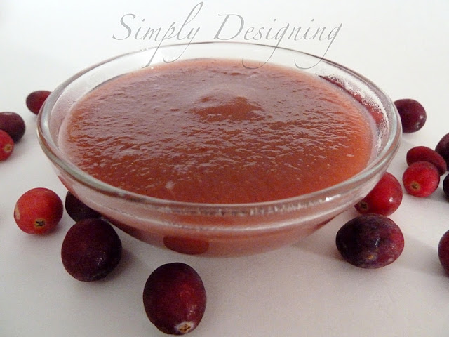 cranberry pear sauce adapted from here ingredients 3 large ripe pears ...