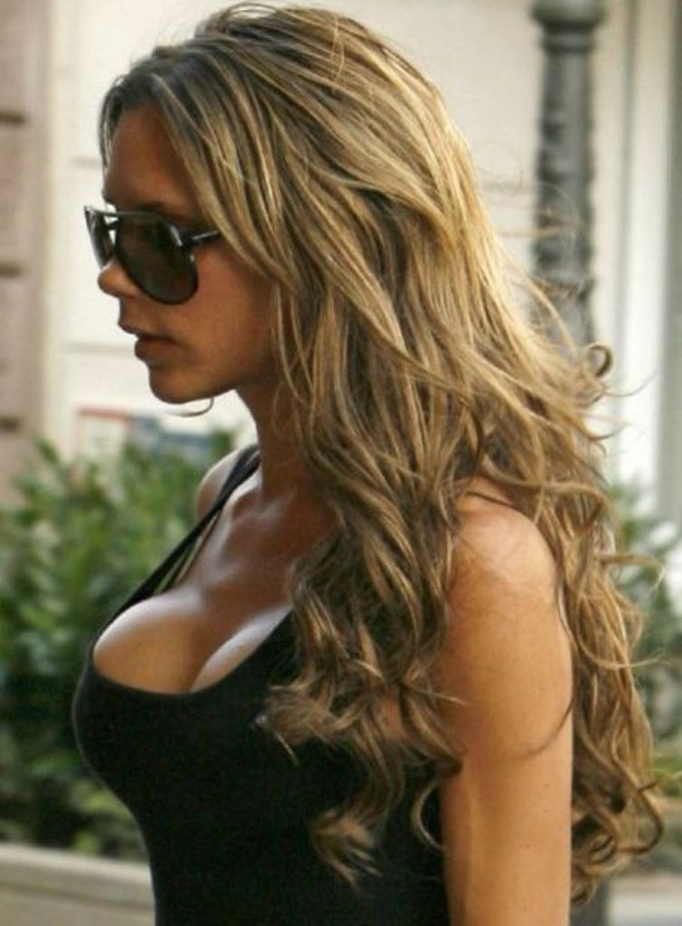 Ponytail hairstyles 2012 victoria beckham hot pictures