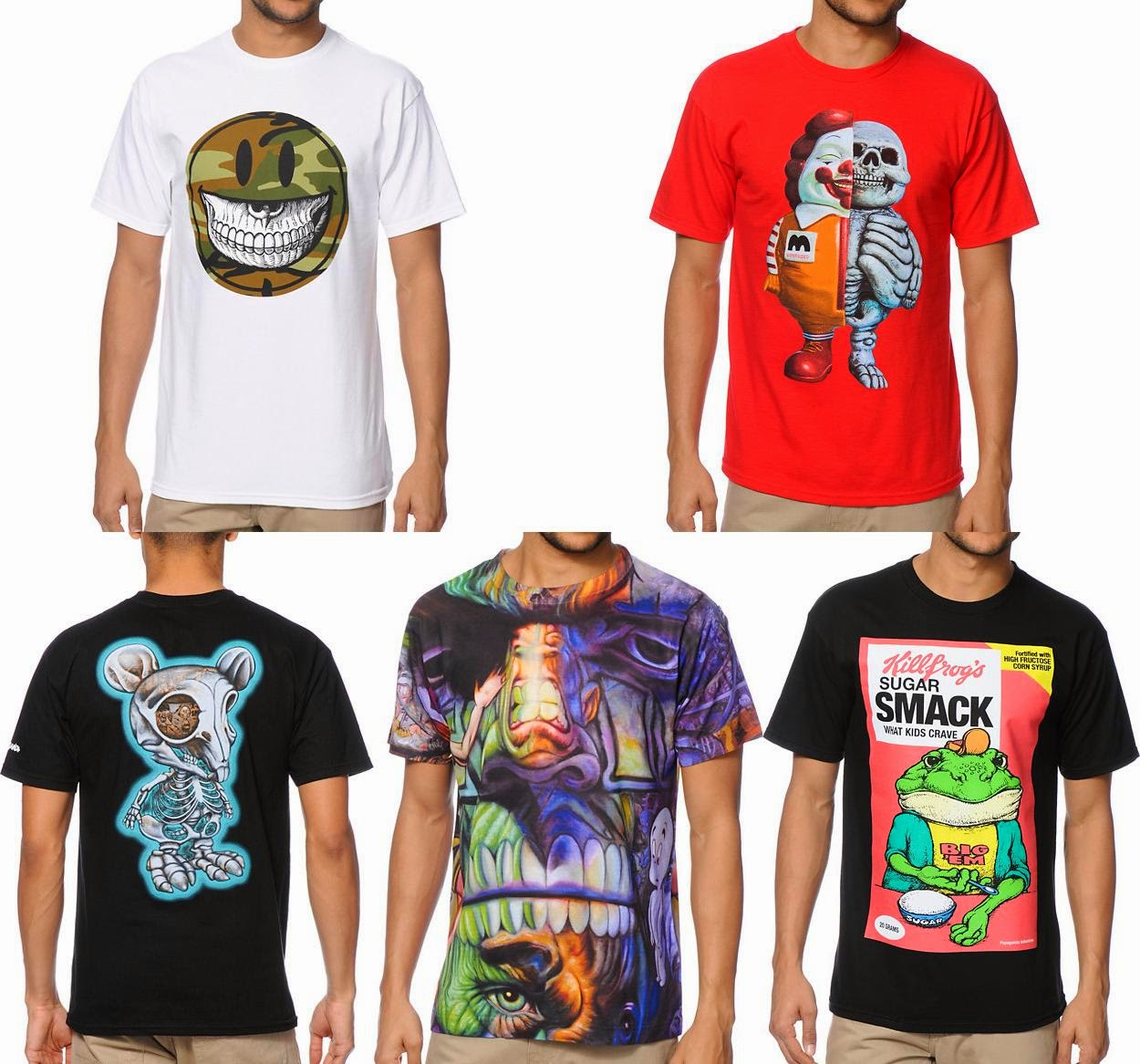 fe7e32eef2b The Blot Says...  POPaganda Streetwear T-Shirt Collection by Ron English