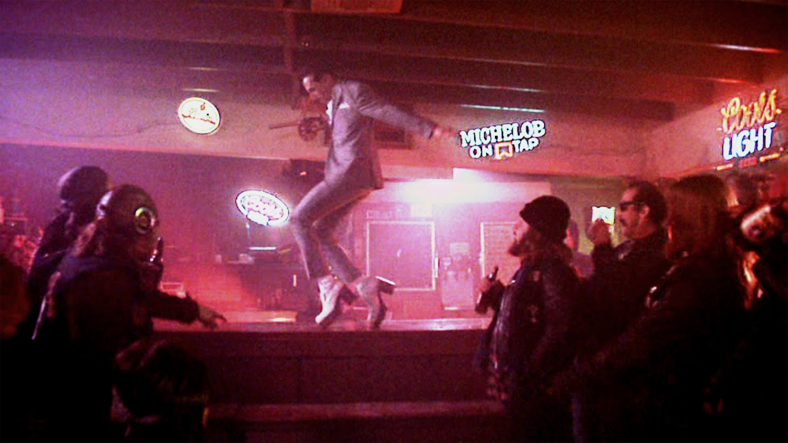Pee Wee Herman Dancing to Tequila - Video Dailymotion