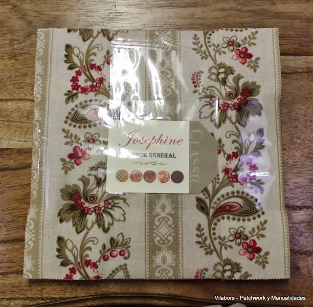 Telas Patchwork Moda Fabrics Colección Sentiments, Josephine, Mimi y Espirit de Noël en Vilabors