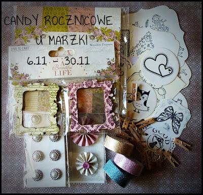 Wygrałam candy u Marzenki :)