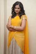 Nanditha raj latest photos in half saree-thumbnail-15