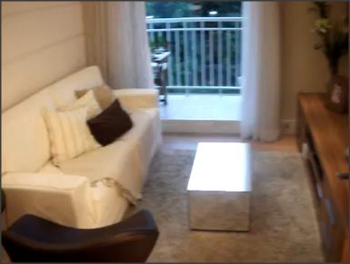 Apartamento pequeno decorado ( 3 dormitórios)