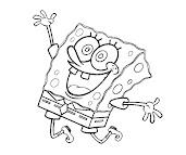 #10 Spongebob Coloring Page