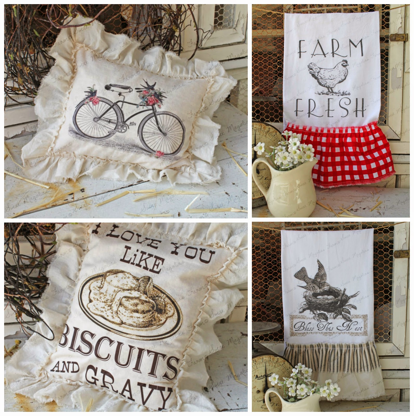 Farmhouse Decor by Sweet Magnolias Farm