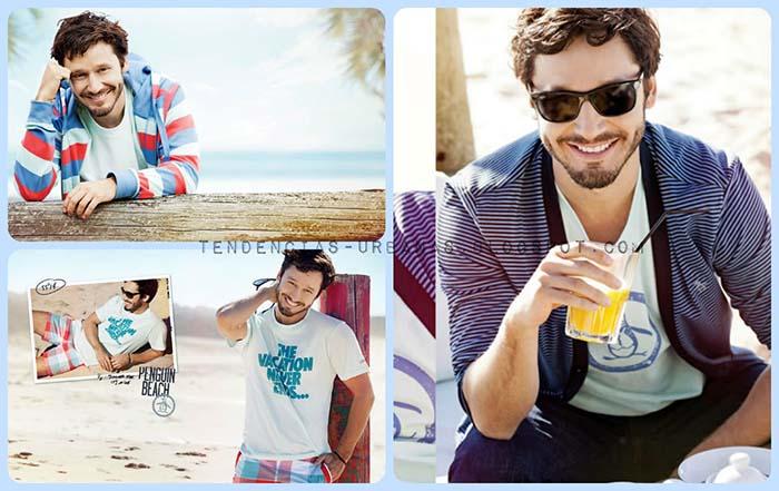 Penguin Verano 2014 Ropa de moda urbana para hombres