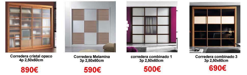 Karpinteria puertas armarios y tarimas ofertas en for Precios de armarios empotrados