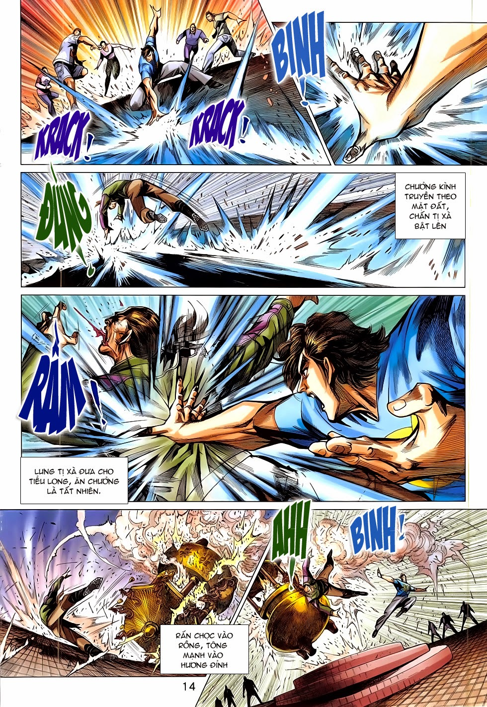 Tân Tác Long Hổ Môn chap 781 Trang 14 - Mangak.info