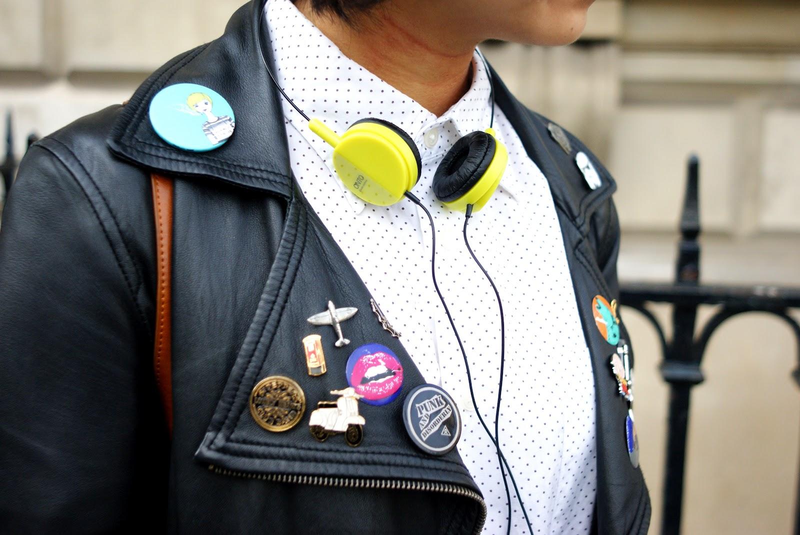 Headphones Fashion London Underground