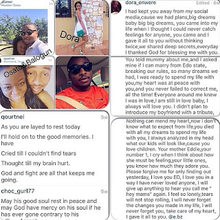 Two Girlfreinds Find Out They Are Dating The Same Nigerian Guy On Facebook After He Died (Screenshots)