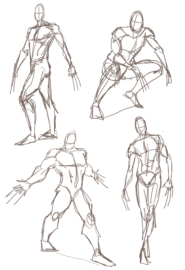 body sketches
