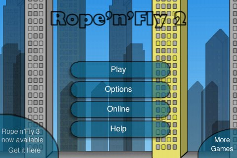 Rope n Fly 2 Free App Game By Robert Szeleney