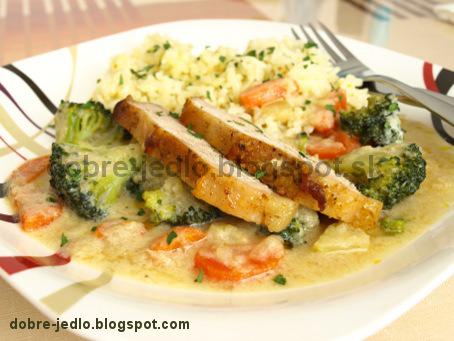 Bravčové karé so zeleninou - recepty