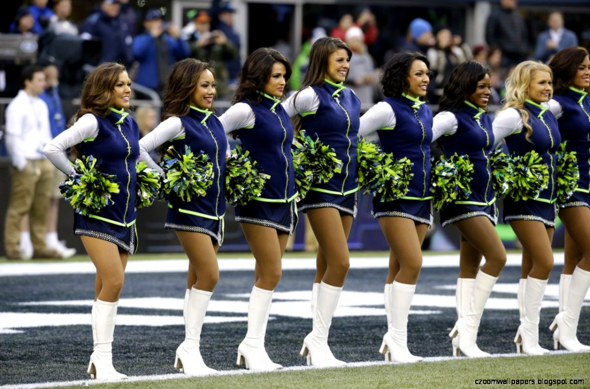 Photos   Seattle Seahawks cheerleaders
