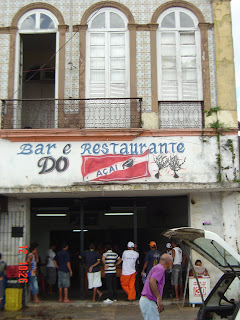mercado do açaí - Belem ver o peso