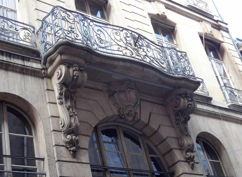 Combien a porte balcons paris consoles en pierre - 52 rue des francs bourgeois ...