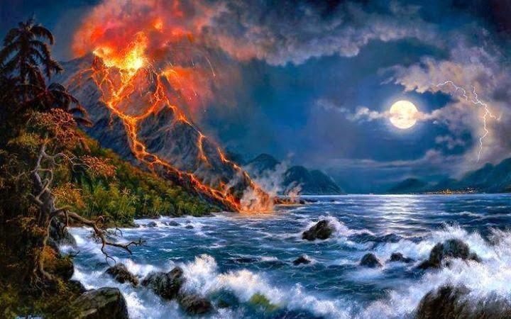 Amazing Nature Digitalart Wallpaper