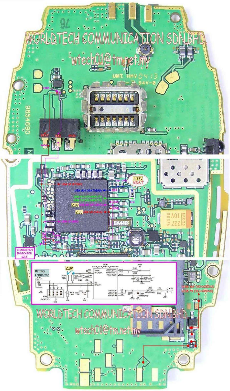 Nokia 6600 Not Charging Repair | Picture Help - dizzysenses