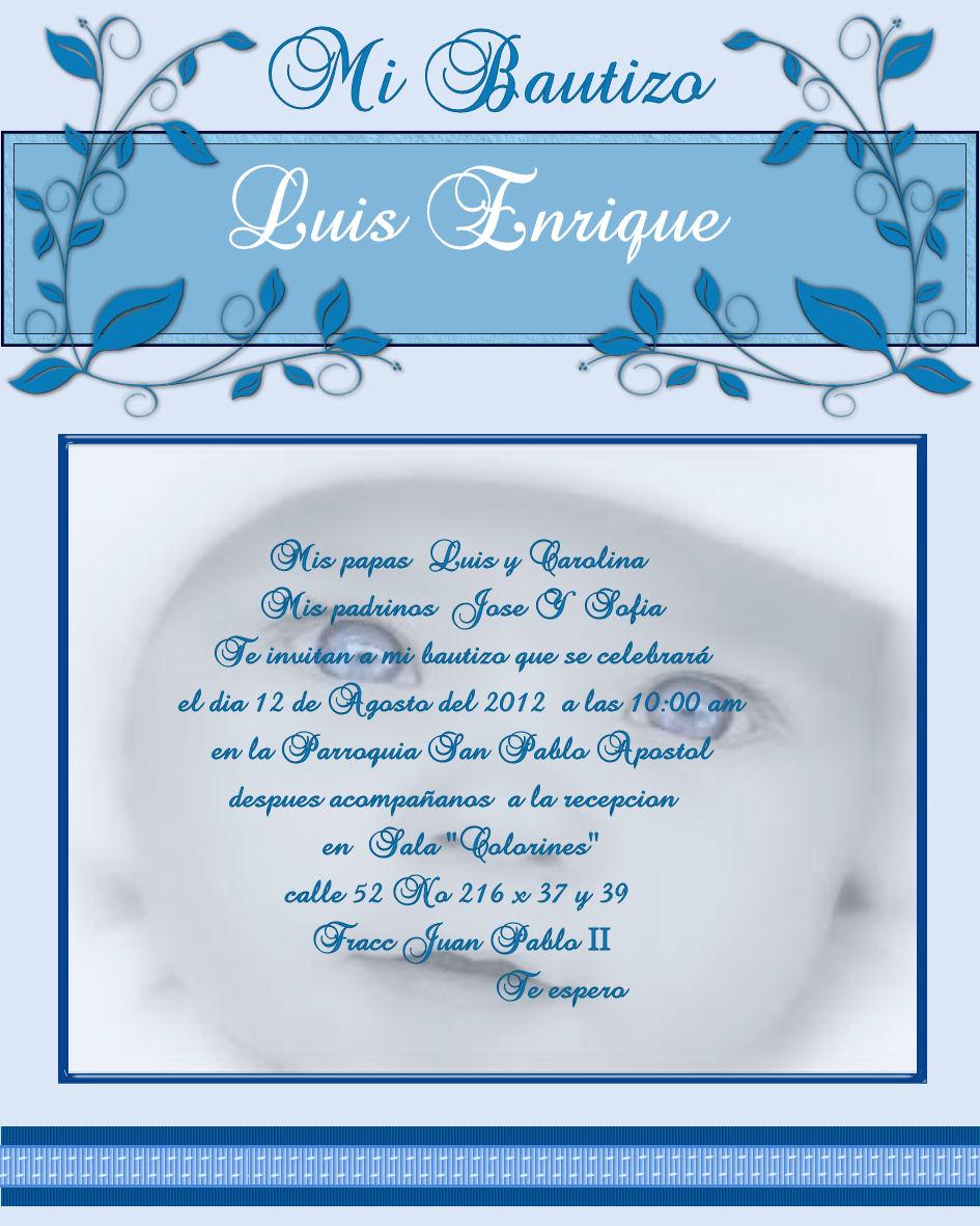 Poemas de invitaci n de bautizo imagui for Poemas para bautizo