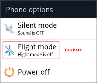 Flight Mode - Android Phone