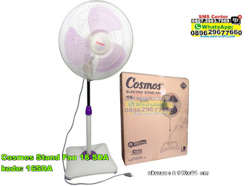 Cosmos Stand Fan 16 Sda