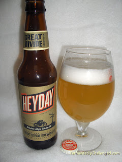 Great Divide Heyday Belgian-style White Ale