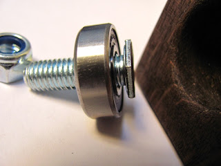 Bolt and ball bearing