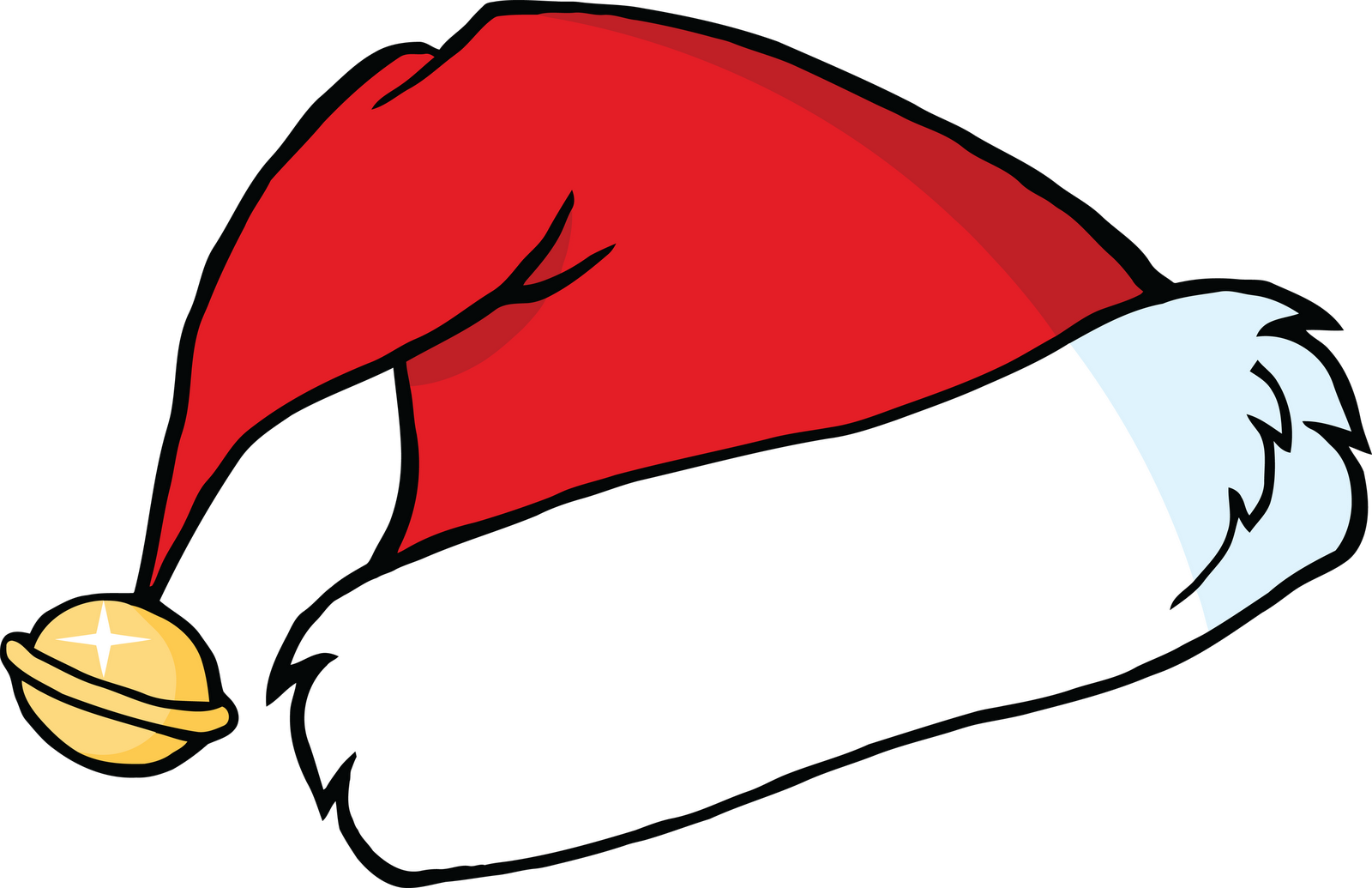 Critical image pertaining to printable santa hat