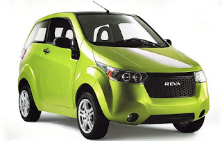electric cars-reva green modal