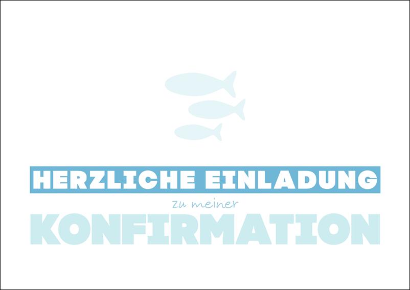 glückwünsche und sprüche zur konfirmation: februar 2015, Einladungen