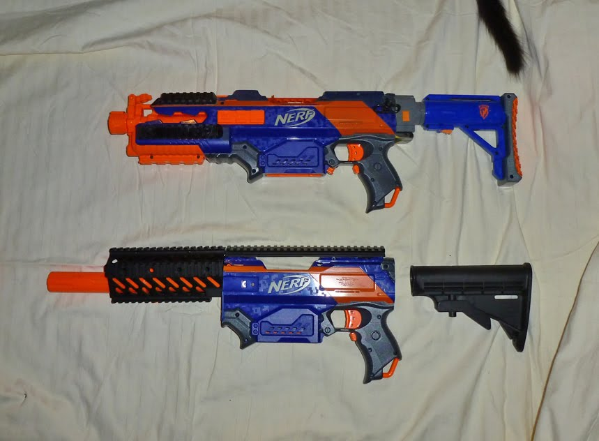 Apex Tactical Solutions Nerf Mod My New Rapidstrike