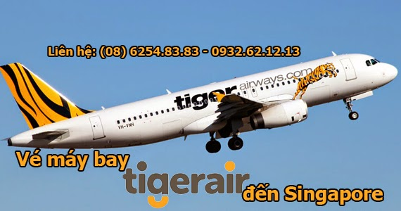 Vé máy bay đi Singapore giá rẻ của Tiger Airways