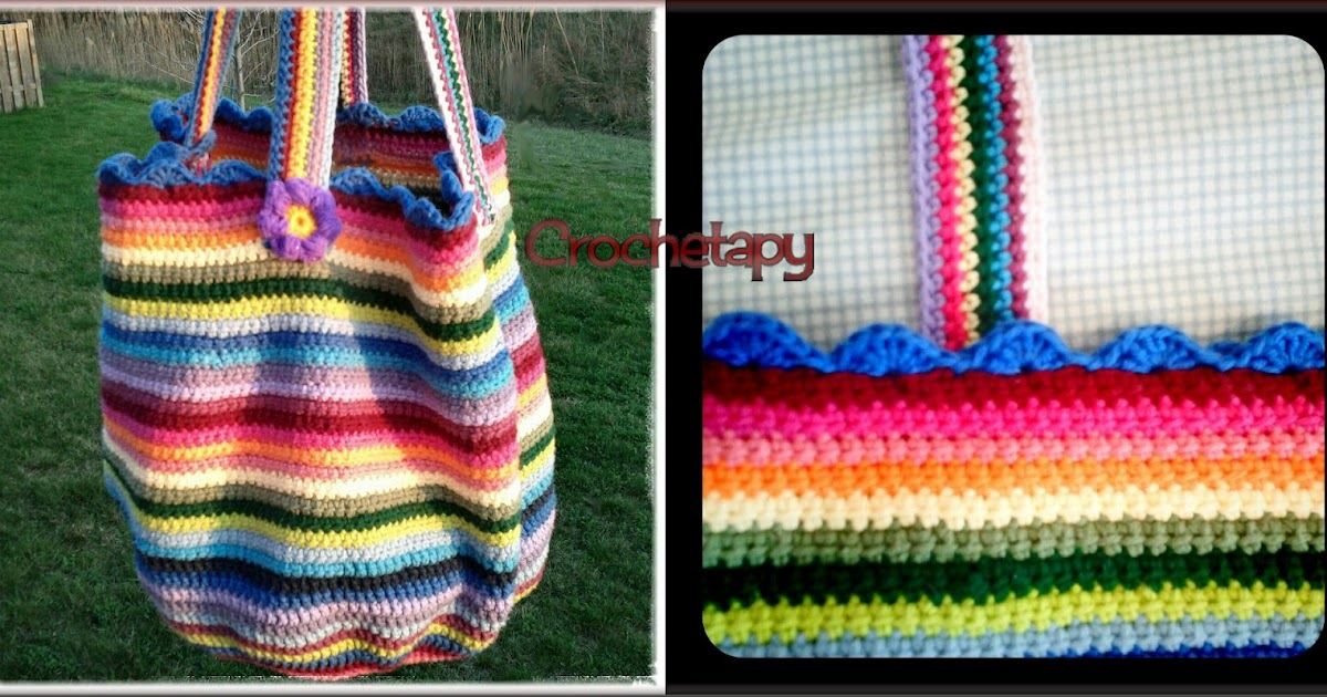 Knitting Pattern Lucy Bag : Crochetapy: Lucy Bag Fini
