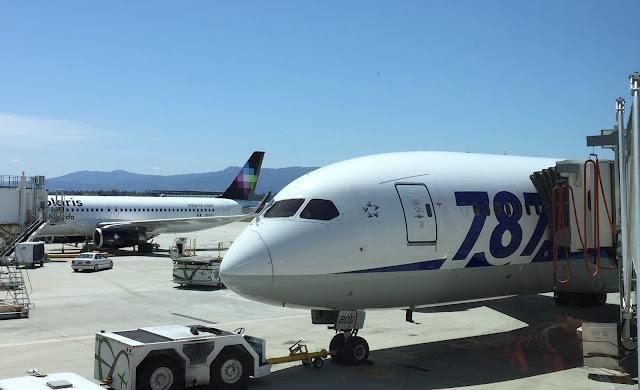 [萊恩飛行紀錄] ANA Business Class 全日空787商務艙 / 台北 ~ 東京羽田 + 東京成田 ~ 聖荷西 TPE ~ HND + NRT ~ SJC