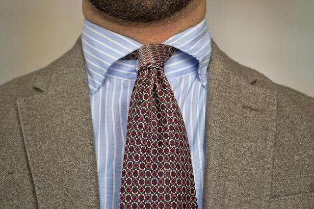 Review Camisa con cuello Button-roll de Haberdashers.
