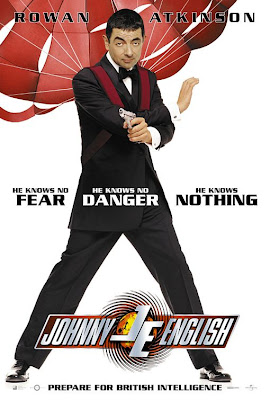 Watch Johnny English 2003 BRRip Hollywood Movie Online | Johnny English 2003 Hollywood Movie Poster