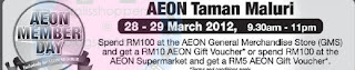 AEON Member Day