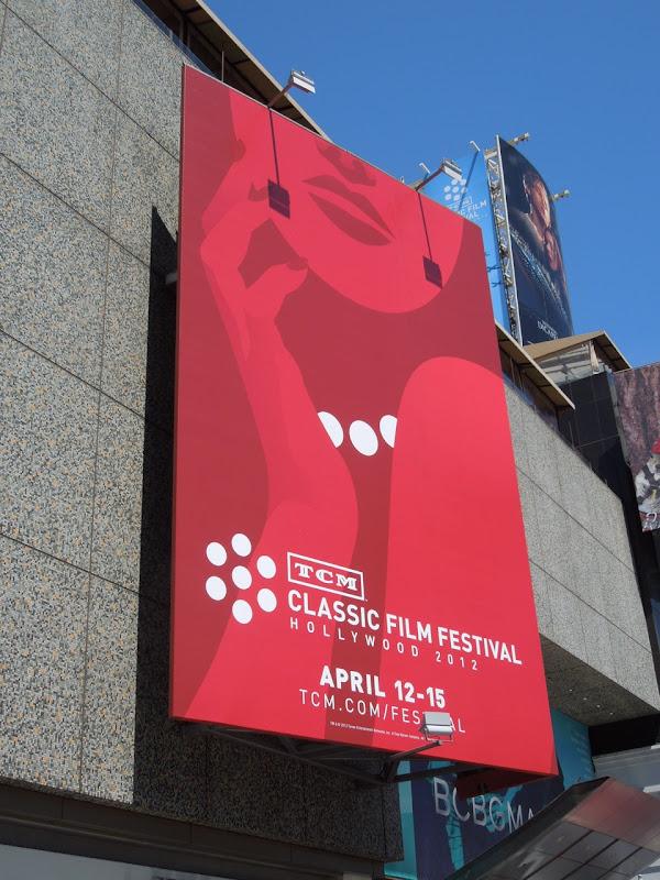 TCM Classic Film Festival billboard 2012