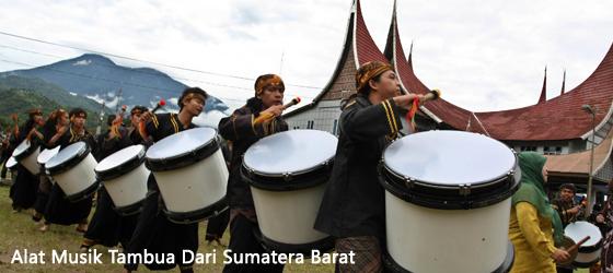 Alat Musik Tambua Dari Sumatera Barat