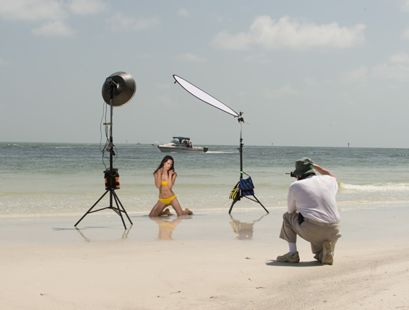 Sarasota Swimsuit Model Photography Class