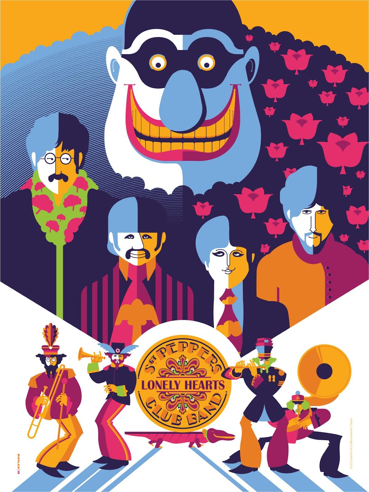Inside The Rock Poster Frame Blog Tom Whalen Yellow