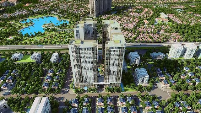 Phối cảnh dự án Eco Green City 3D