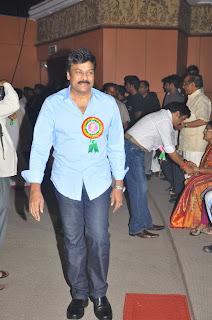 Chiranjeevi Latest Stills At Tsr Awards